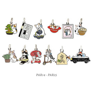 [CLEARANCE SALE][PAR014-PAR025]Cat Mobile Strap.고양이 핸드폰줄/장식ver.2