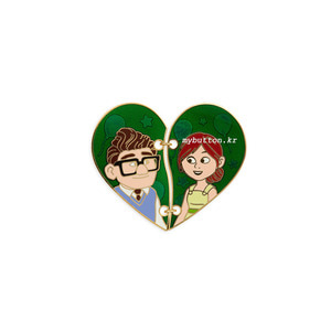 [USA][Pin][Disney/Pixar]UP_Carl and Ellie.핀뱃지