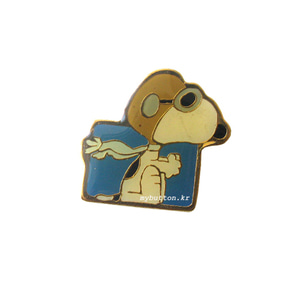 [Vintage][Pin]Snoopy Flying Ace.스누피 빈티지핀뱃지