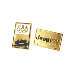 [Vintage][USA][SET]Jeep Olympic Sponsor.빈티지 뱃지 세트