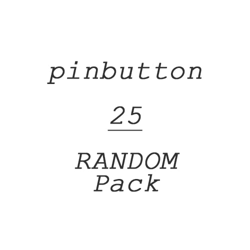 [Event]Pinbutton 25 RANDOM Pack