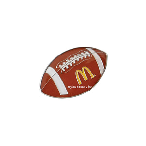 [Mc][USA][Pin]Football(rugby).맥도널드뱃지