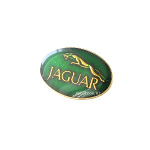 [Vintage][Pin]Jaguar(Green).빈티지뱃지