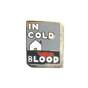[BP][Pin]Book pins_In Cold Blood.냉혈한 북뱃지
