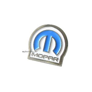 [Vintage][Pin]Mopar blue.빈티지뱃지